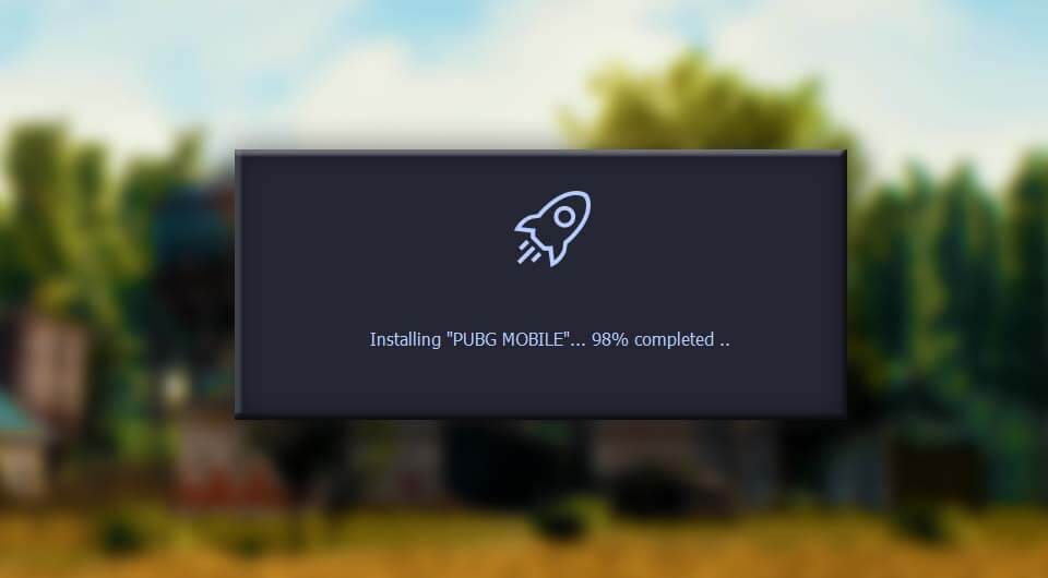 Tencent Gaming Buddy зависает на 98%