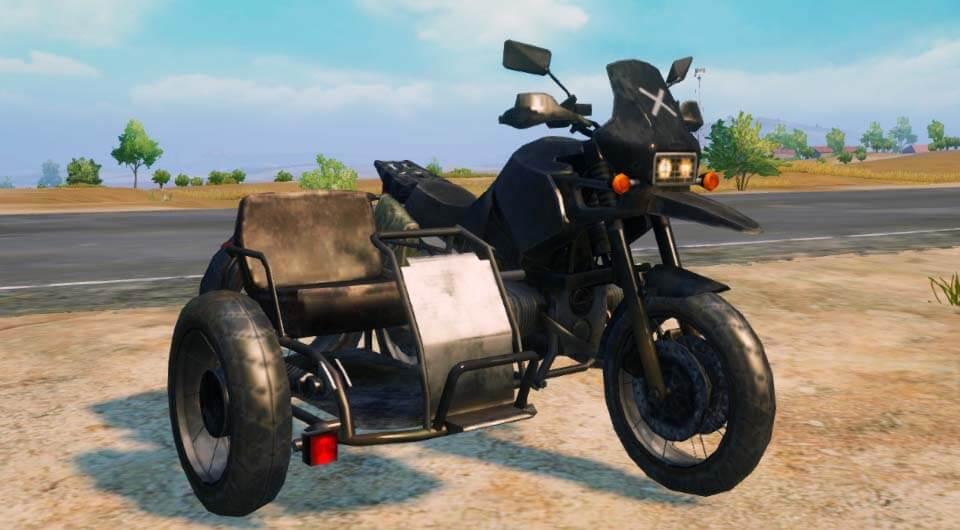 Мотоцикл с коляской Motorcycle with sidecar