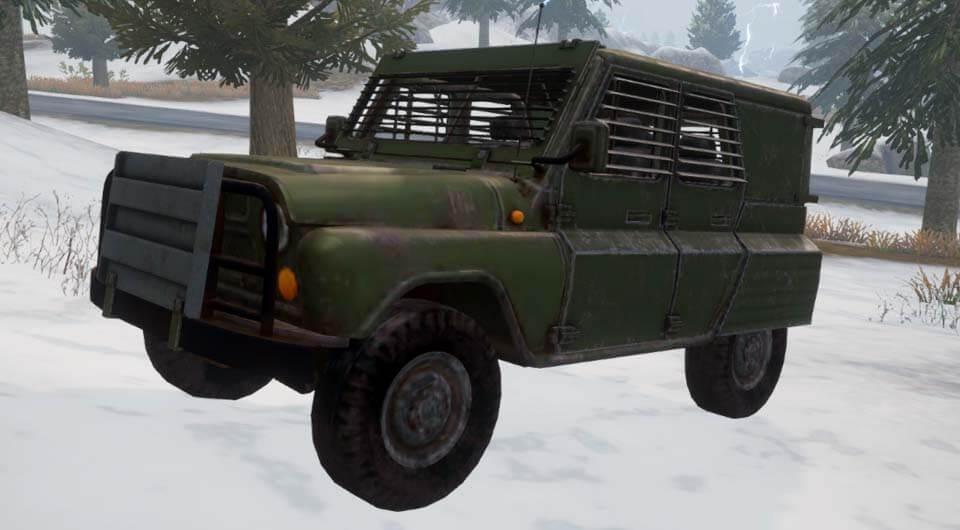 Бронированный УАЗ Armored UAZ