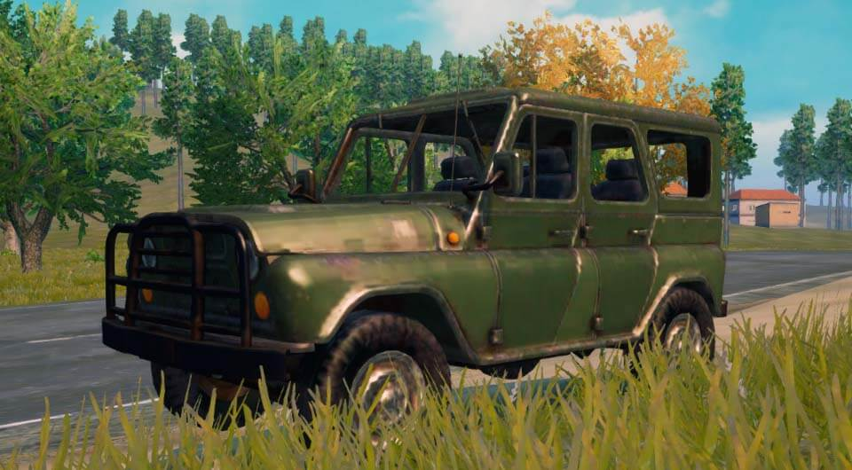 УАЗ с крышей UAZ Closed Top