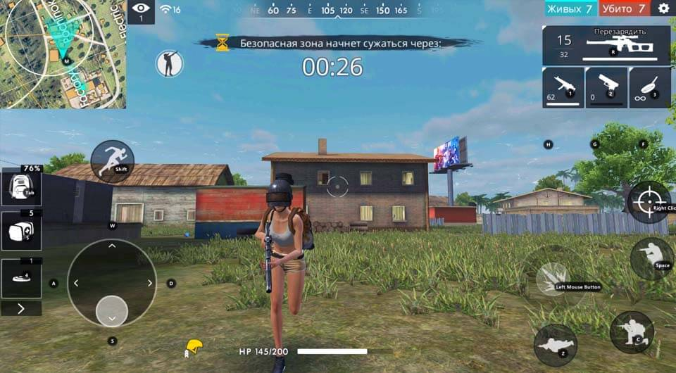 Free Fire PC Gameplay Tencent Gaming Buddy