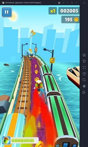 Subway Surfers gameloop gameplay