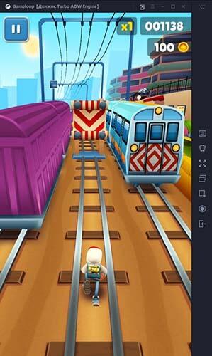 Subway Surfers pc gameplay