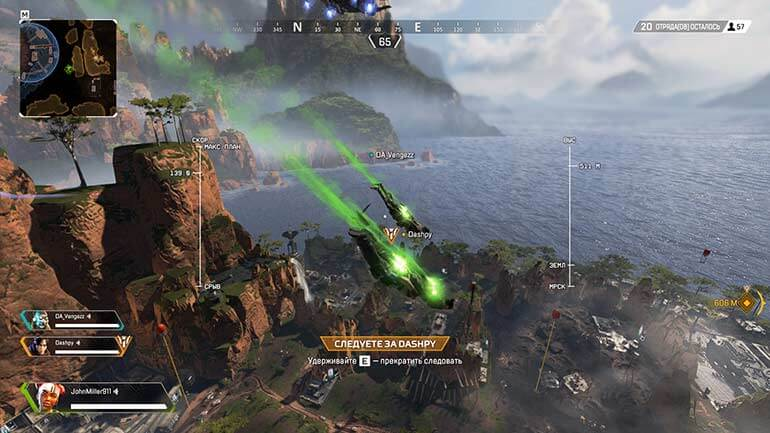 apex legends gameplay