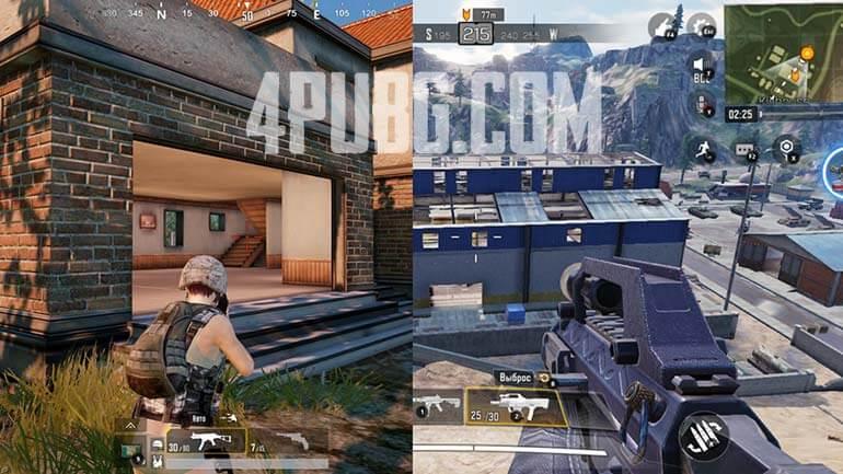 COD Mobile VS PUBG Mobile