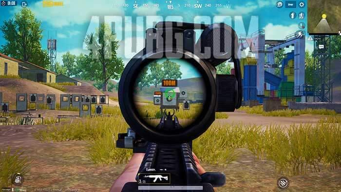 PUBG Mobile стрельба одиночными выстрелами