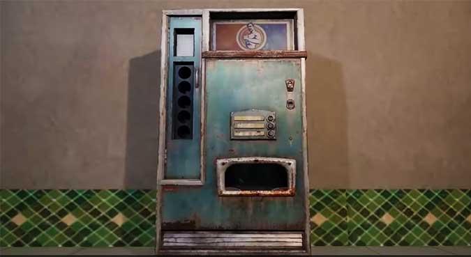 PUBG Mobile торговый автомат