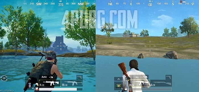 графика pubg mobile и pubg mobile lite