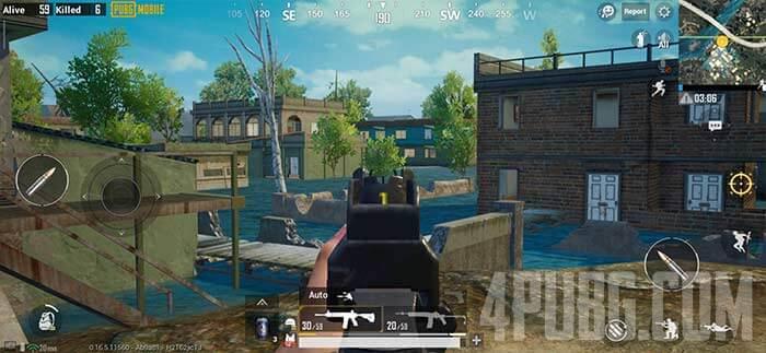 PUBG Mobile автоматический режим стрельбы
