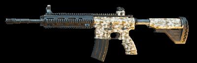 PUBG Mobile M416 Desert Camo