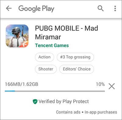 Установка PUBG Mobile