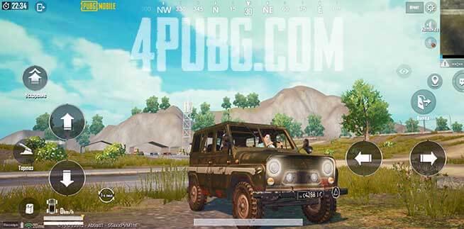 УАЗ с крышей PUBG Mobile