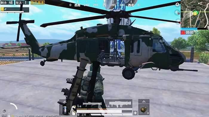 Бронированный вертолёт PUBG Mobile