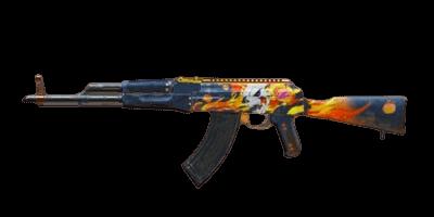 Hellfire AKM PUBG Mobile