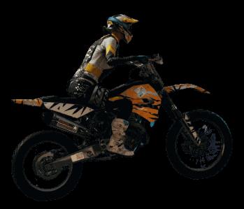 PUBG Кроссовый мотоцикл