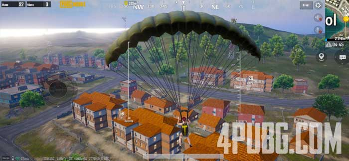 PUBG Mobile приземление