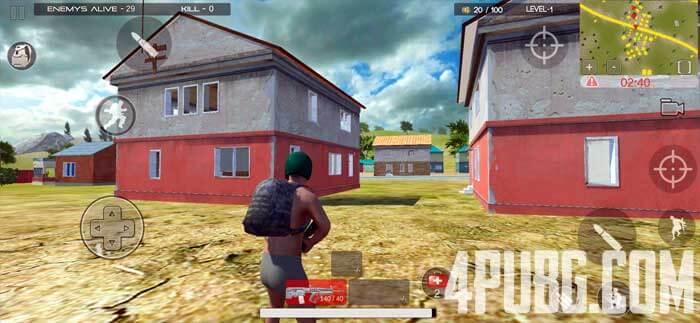 Free Survival Fire battlegrounds скриншот из игры