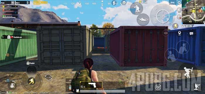 PUBG Mobile поиск оружия