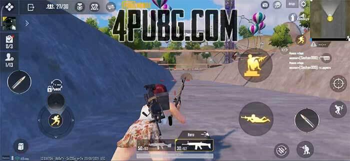 PUBG Mobile прыжок лягушкой