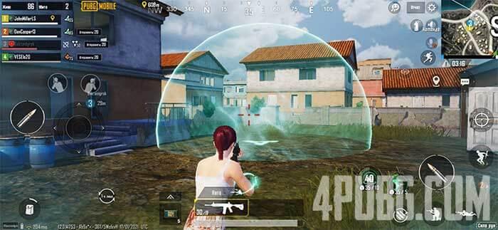 Руна ветра PUBG Mobile