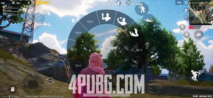Эмоции в PUBG Mobile
