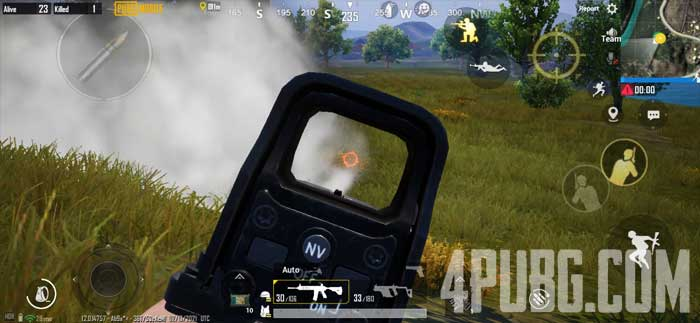 PUBG Mobile дымовые гранаты