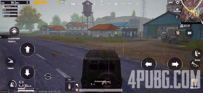 PUBG Mobile UAZ