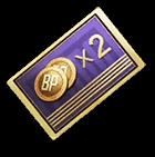 2X BP card PUBG Mobile