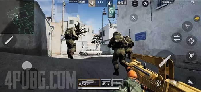 CS GO Mobile Контр-террористы