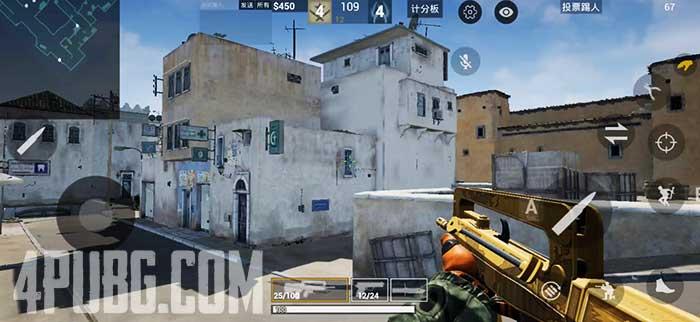 CS GO Mobile Dust 2, точка А