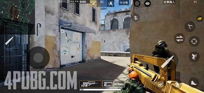 CS GO Mobile Игровой процесс на карте Dust 2