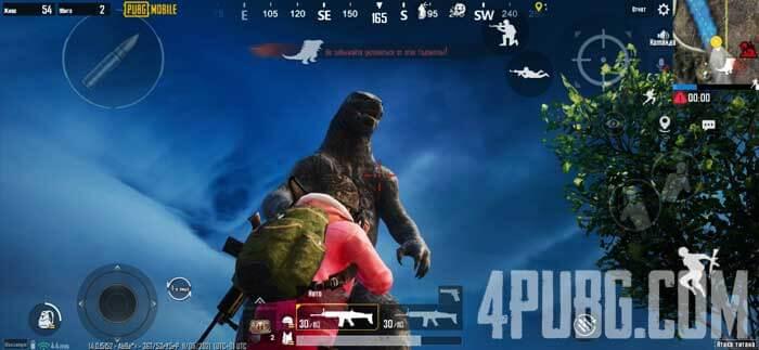 PUBG Mobile Атака титанов