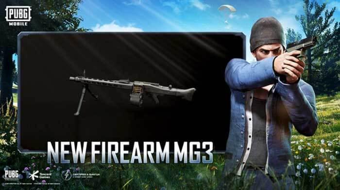 Пулемёт MG3 в PUBG Mobile
